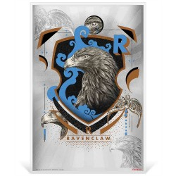 2020 Harry Potter Hogwarts House Banners RAVENCLAW - Niue 1 dollar 5g silver coin note