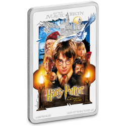 2020 Harry Potter Poster 1) De steen der Wijzen - Niue 2 dollars 1 oz silver coin
