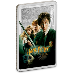 2020 Harry Potter Poster 2) The Chambre of Scerets - Niue 2 dollars 1 oz silver coin