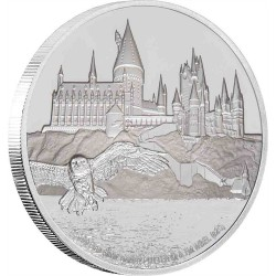 2020 Harry Potter HOGWARTS CASTLE - Niue 2 dollars 1 oz silver coin