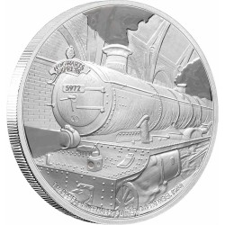 2020 Harry Potter HOGWARTS EXPRESS - Niue 2 dollars 1 oz silver coin