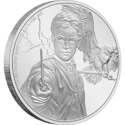 2020 Harry Potter 4 HARRY POTTER - Niue 2 dollars 1 oz silver coin