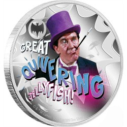 2020 Batman 66 THE PENGUIN™ - Niue 2 dollars 1 oz silver coin