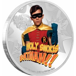 2020 Batman 66 ROBIN™ - Niue 2 dollars 1 oz silver coin