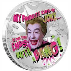 2020 Batman 66 THE JOKER™ - Niue 2 dollars 1 oz silver coin