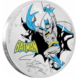 2020 Justice League 60 years BATMAN™ - Niue 2 dollars 1 oz silver coin