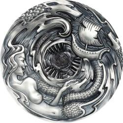 Palau 20 dollars 2020 - SCYLLA AND CHARYBDIS Evil Within - 3 oz silver coin 20$