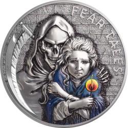 Palau 10 dollars 2020 - LITTLE MATCH GIRL Fear Tales - 2 oz silver coin 10$