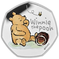 2020 Disney Classic - Winnie the Pooh - UK United Kingdom 50 pence PROOF coin