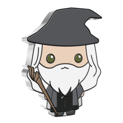 2021 Chibi Coin Collection - Lord of the Rings 3 GANDALF THE GREY™ - Niue 2 dollars 1 oz silver coin