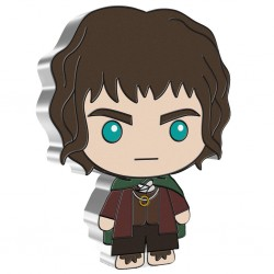 2021 Chibi Coin Collection - Lord of the Rings 1 FRODO BAGGINS™ - Niue 2 dollars 1 oz silver coin