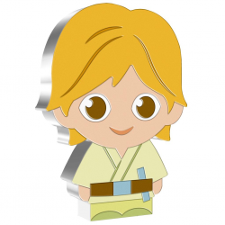 2021 Chibi Coin Collection - Star Wars 6 LUKE SKYWALKER™ - Niue 2 dollars 1 oz silver coin