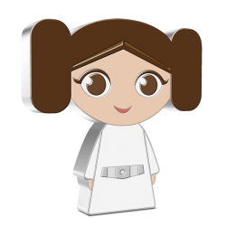 2021 Chibi Coin Collection - Star Wars 7 Princess Leia™ - Niue 2 dollars 1 oz silver coin