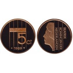 serie Nederland 5 cent 1982-2001 FDC