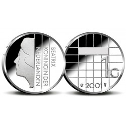 serie Nederland 1 gulden 1980-2001 FDC