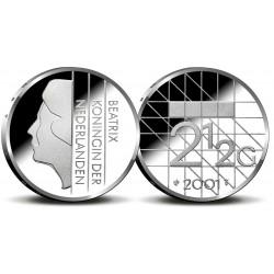 serie Nederland 2½ gulden 1980-2001 FDC
