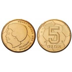 Nederland 5 gulden 2000 UNC - EK Vijfje