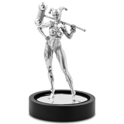 DC Comics - Miniature 4 - Harley Quinn 135g Silver Miniature