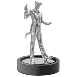 DC Comics - Miniature 5 - The Joker 150g Silver Miniature