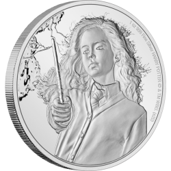2021 Harry Potter 5 HERMIONE GRANGER - Niue 2 dollars 1 oz silver coin