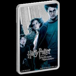 2020 Harry Potter Poster 3) Prisoner of Azkaban - Niue 2 dollars 1 oz silver coin