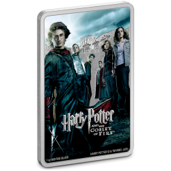 2020 Harry Potter Poster 4) The Goblet of Fire - Niue 2 dollars 1 oz silver coin