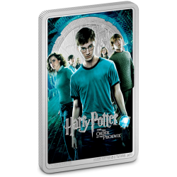 2021 Harry Potter Poster 5) The Order Of The Phoenix - Niue 2 dollars 1 oz silver coin