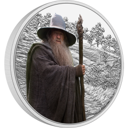 2021 THE LORD OF THE RINGS Classics 2 GANDALF™ - Niue 2 dollars 1oz silver coin