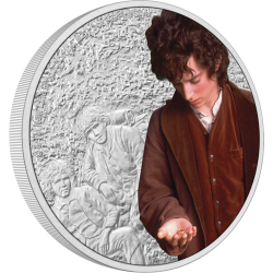 2021 THE LORD OF THE RINGS Classics 3 FRODO BAGGINS™ - Niue 2 dollars 1oz silver coin