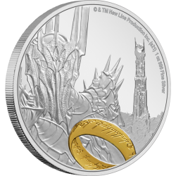 2021 THE LORD OF THE RINGS Classics 1 SAURON™ - Niue 2 dollars 1oz silver coin